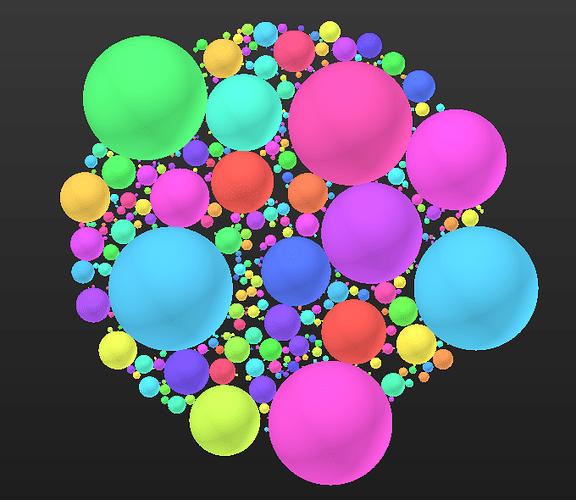 Packed Spheres