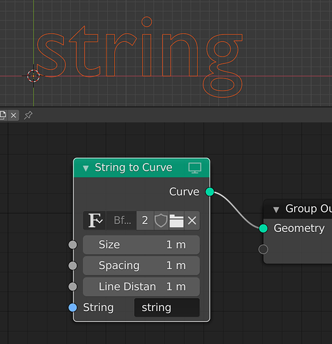 string-to-curve