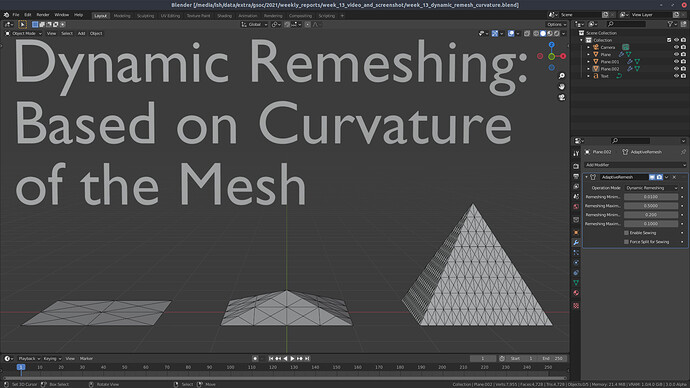 gsoc_2021_dynamic_remeshing_with_respect_to_curvature