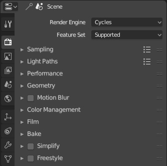 Cycles render settings UI still messy in 2 8 - Cycles
