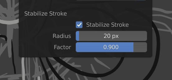 Blender-stabilise-option